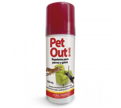 Pet Out® Spray repelente para Perros y Gatos