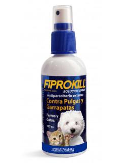 FIPROKILL® SPRAY ANTI PULGAS Y GARRAPATAS 100mL