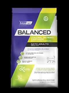 BALANCED GATO CASTRADO/LIGHT 7,5KG
