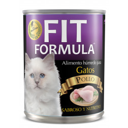 FIT LATA GATO POLLO 290g