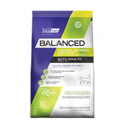 BALANCED GATO CASTRADO/LIGHT 2KG